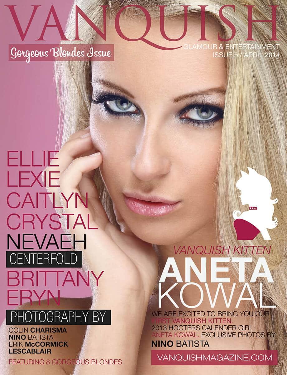 Vanquish Magazine - Issue 5 Cover