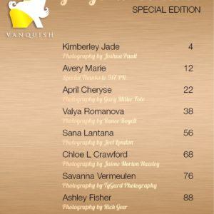 Vanquish Magazine - Gorgeous Blondes - April Cheryse 1