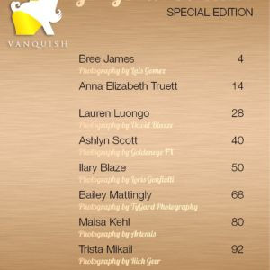 Vanquish Magazine - Gorgeous Blondes - Bree James 1