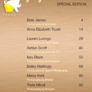 Vanquish Magazine - Gorgeous Blondes - Lauren Luongo 1