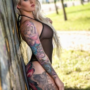 Vanquish Tattoo Magazine - December 2017 - Robin Banks 4
