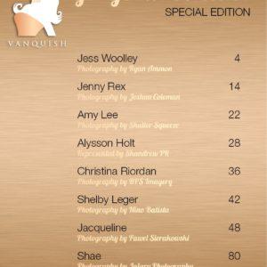Vanquish Magazine - Gorgeous Blondes - Jacqueline 1