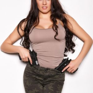 Vanquish Magazine - Girls with Guns - Lizzeth Acosta 2