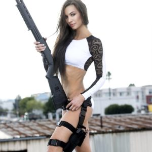 Vanquish Magazine - Girls with Guns - Lizzeth Acosta 5